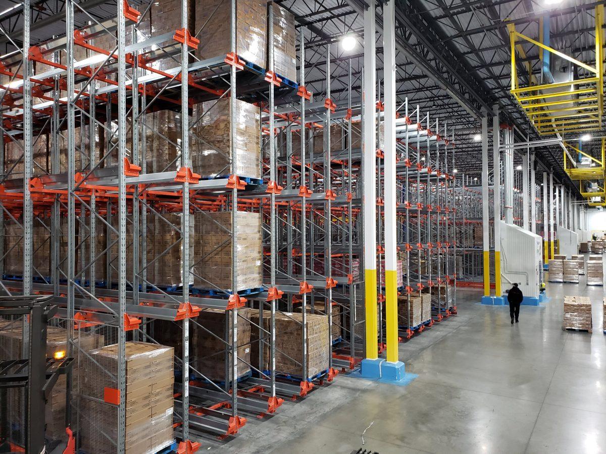 warehouse pallet rack installers